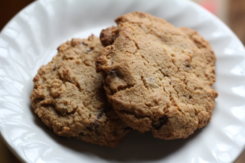 Peanut Butter Chocolate Chip Cookies – for a Rainy Day