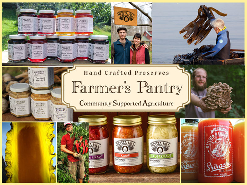 Farmer's Pantry Collage