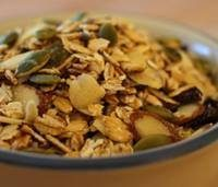 Maple Ginger Granola