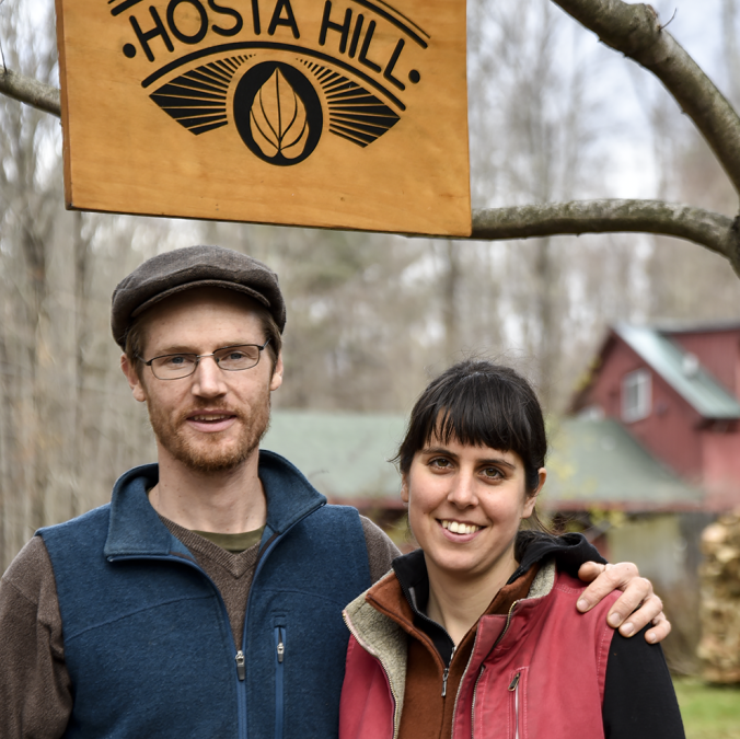 Hosta Hill Abe and Maggie – Lacto Fermentation Wizards
